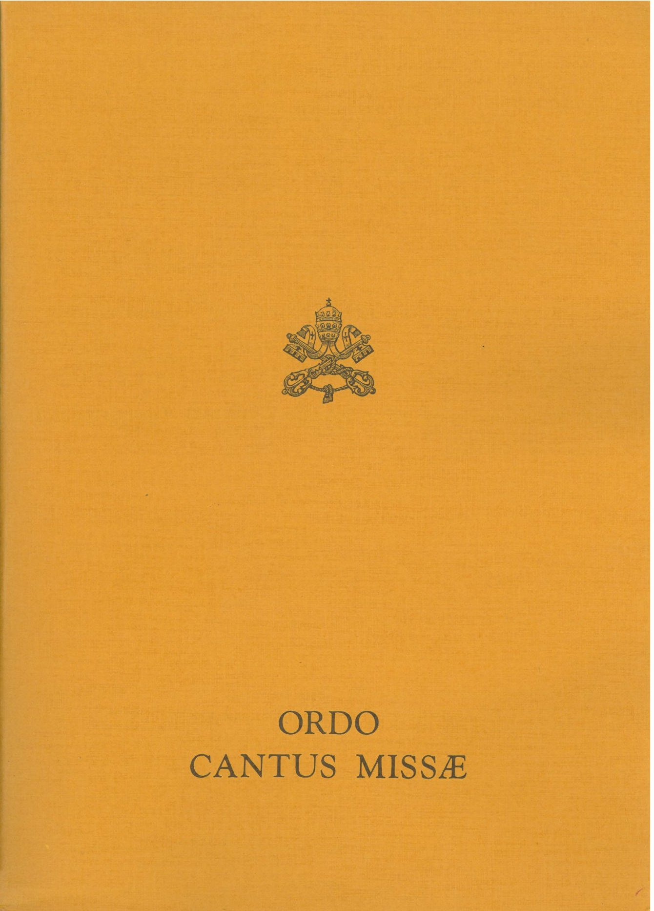 Liturgical Books of the Ordinary Form of the Roman Rite